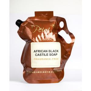 African Black Soap with Shea Butter Shower Gel 1.5 Litre